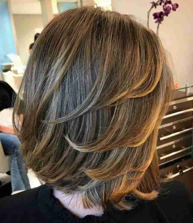مدل مو جدید امسال مناسب صورت گرد و پهن