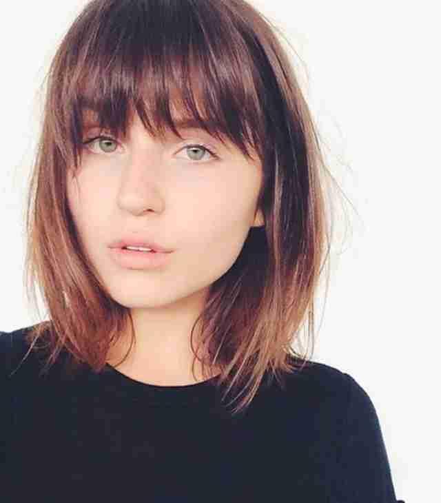 مدل مو ساده کوتاه برای صورتهای گرد ۲۰۲۰