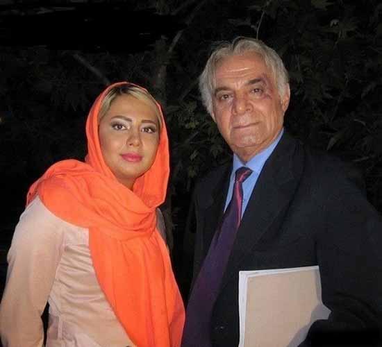 سیروس گرجستانی و ساناز نظام دوست ، همسر دومش
