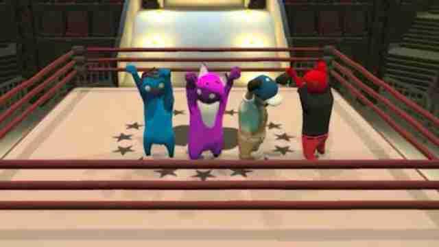 تصاویر محیط بازی Gang-of-beasts