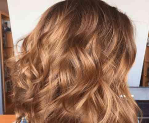 عسلی کردن رنگ موها بدون استفاده از دکلره