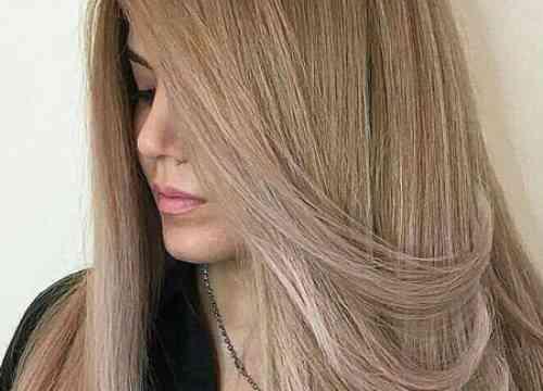رنگ نسکافه ای روشن بدون دکلره کردن موها