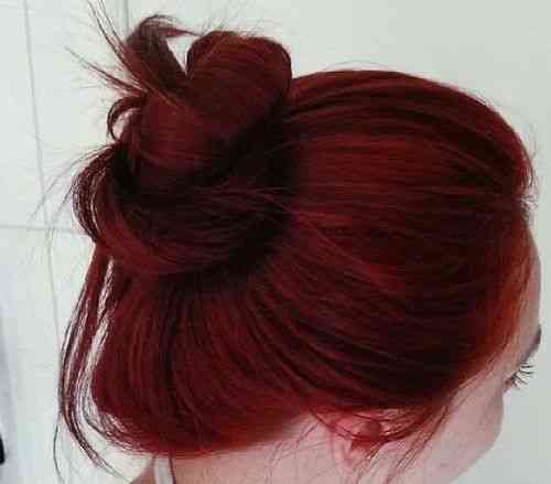 رنگ قرمز بدون دکلره کردن مو