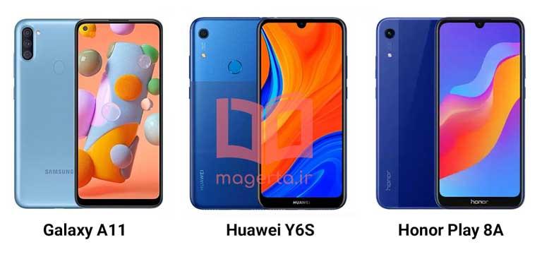 بهترین گوشی موبایل بازه قیمتی 2 تا 3 میلیون تومان