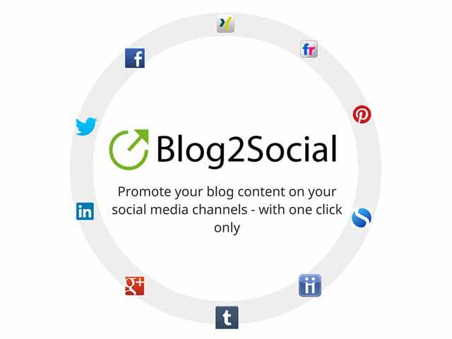 پلاگین Blog2Social