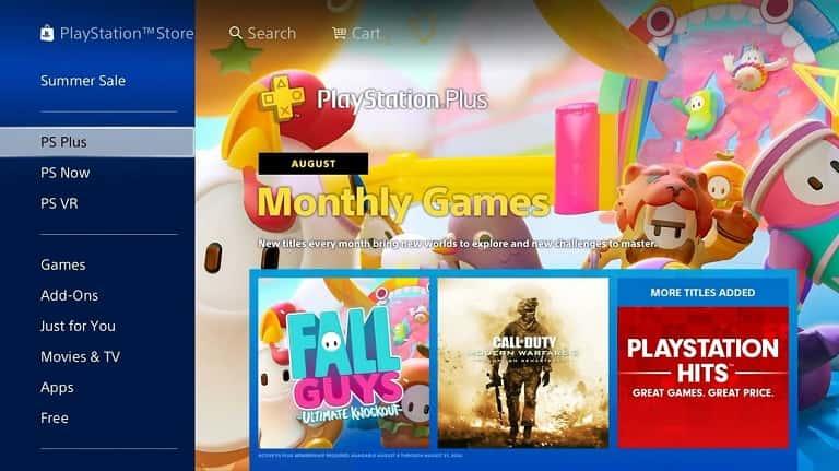 آموزش دانلود رایگان بازی فال گایز در PS4