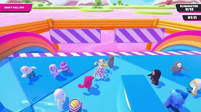 راهنمای مینی گیم Block Party در بازی فال گایز