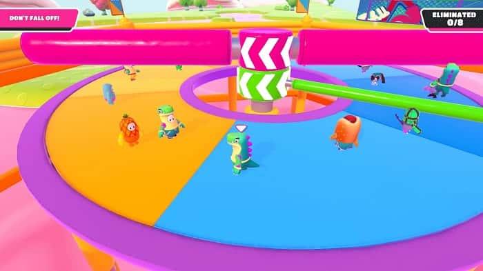 راهنمای مینی گیم Jump Club در بازی Fall Guys