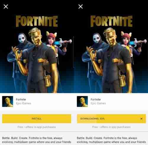 نحوه نصب Fortnite جدید ، نصب بازی فورتنایت گوشی