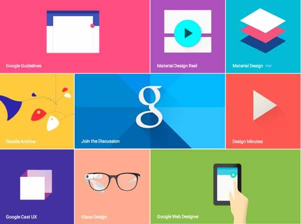 طراحی متریال گوگل