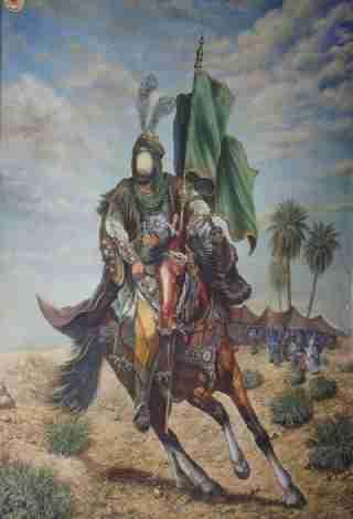 عکس حضرت عباس برای تصویر زمینه گوشی