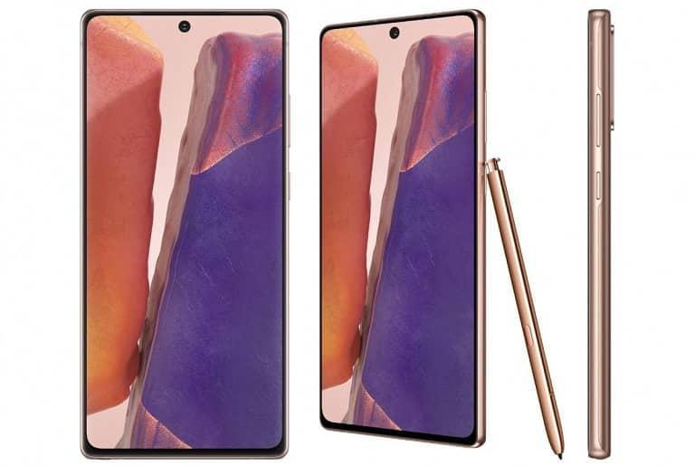 مشخصات فنی گلکسی نوت 20 معمولی (Galaxy Note 20)
