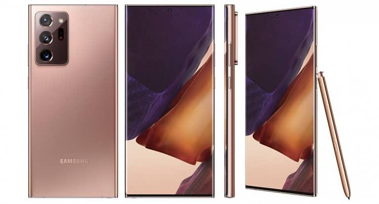 مشخصات فنی گلکسی نوت 20 اولترا (Galaxy Note 20 Ultra)