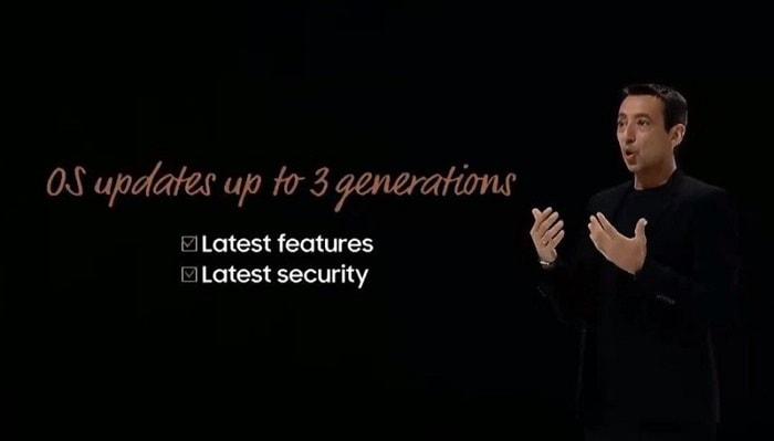 لیست دریافت کننده سه آپدیت جدید اندروید گوشی های گلکسی سامسونگ