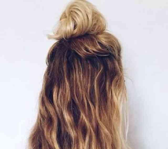 مدل مو گوجه ای دخترونه باز ۹۹