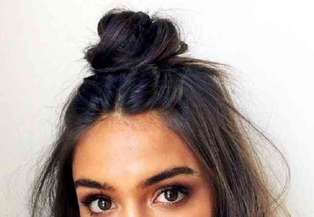 مدل مو گوجه ای ساده