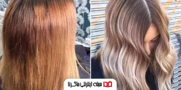 ریموور رنگ مو جوش شیرین برای روشن تر کردن رنگ موها
