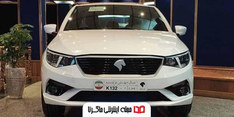تصاویر خودرو k132 ایران خودرو جدید