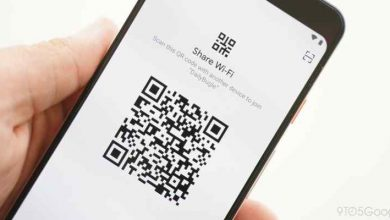 تصویر آموزش به اشتراک گذاشتن رمز وای فای با QR و وصل شدن بدون داشتن رمز