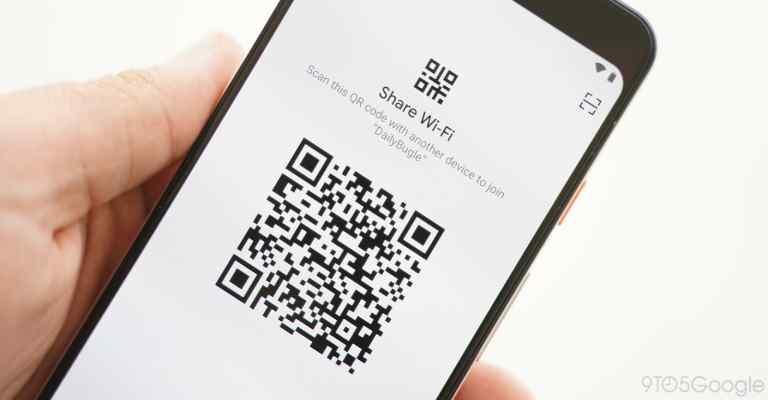 اشتراک گذاشتن رمز وای فای با QR