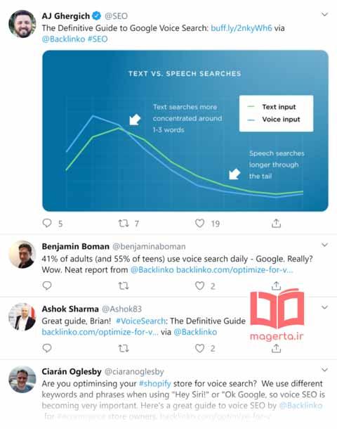 بهین هسازی توییتر