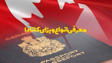 تصویر معرفی انواع ویزای کانادا 🇨🇦
