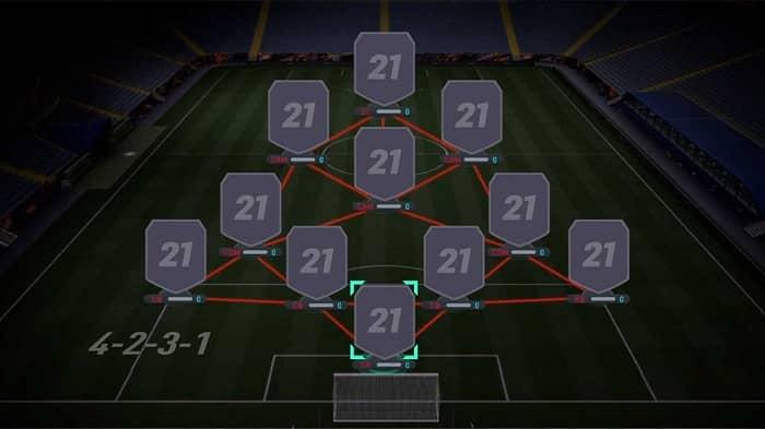 بهترین ترکیب متعادل بازی فیفا 21