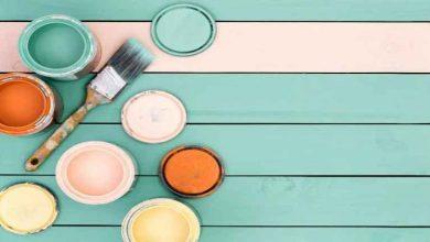 تصویر بهترین رنگ دیوار برای خانه های کوچک مدرن در سال 2020
