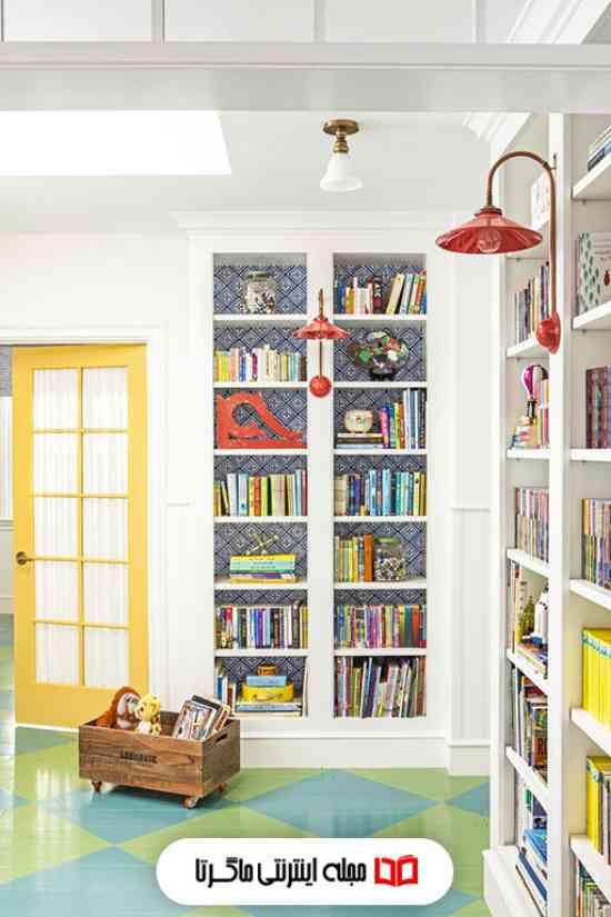 ترکیب رنگ های روشن در اتاق کودک