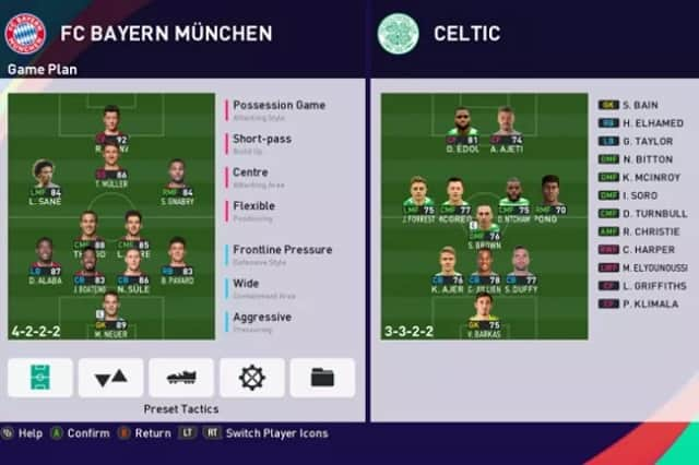 بهترین ترکیب هجومی بازی پی ای اس 2021