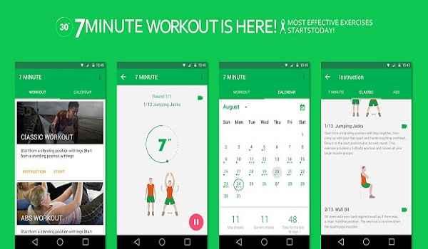اپلیکیشن تناسب اندام 7-Minute Workout