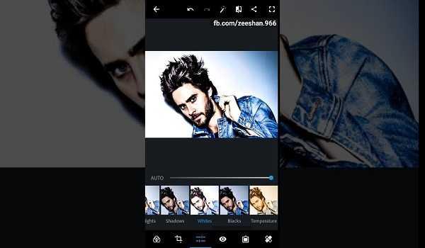 فتوشاپ موبایل ADOBE PHOTOSHOP EXPRESS
