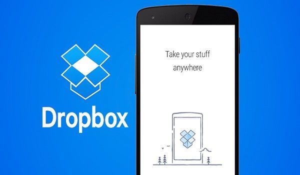 سرویس میزبانی ابری DROPBOX اندروید